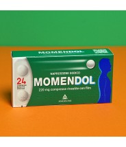 MOMENDOL 220 MG 24 COMPRESSE RIVESTITE