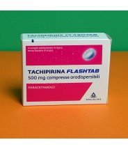 TACHIPIRINA FLASHTAB 500MG 16 COMPRESSE DISPERSIBILI